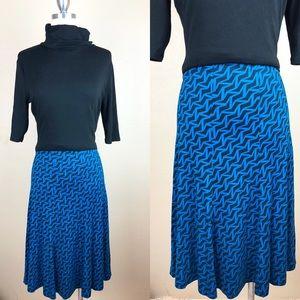 Diane von Furstenberg Pattern Skirt